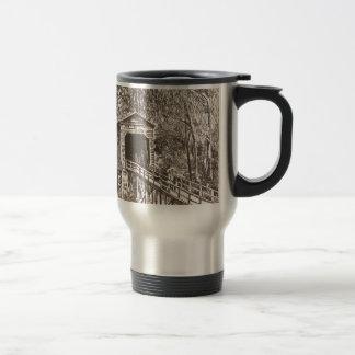 Mug De Voyage Pont en bois couvert