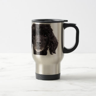 Mug De Voyage Portrait d'un caniche noir