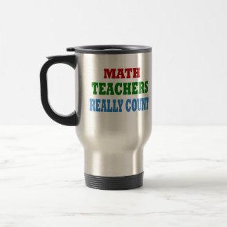 Mug De Voyage Professeur de maths drôle