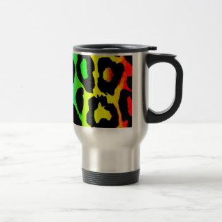 Mug De Voyage rainbow_leopard_print-altered