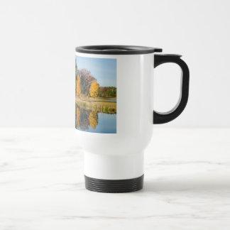 Mug De Voyage Réflexion d'étang d'automne