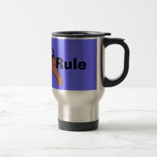 Mug De Voyage Règle d'Airedales