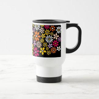 Mug De Voyage Rétro motif de fleur