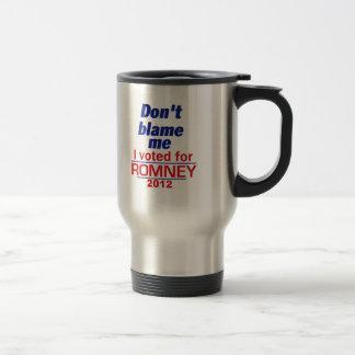 Mug De Voyage Romney ne me blâment pas