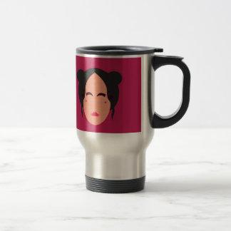 Mug De Voyage ROSE de geisha de conception