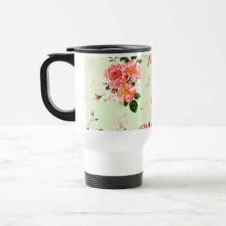 Mug De Voyage Roses floraux
