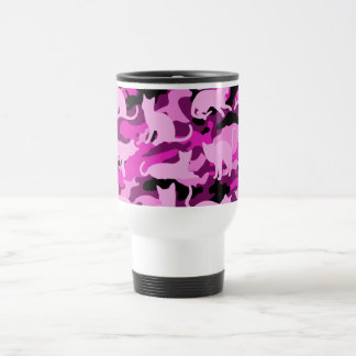 Mug De Voyage Roses indien Catmouflage