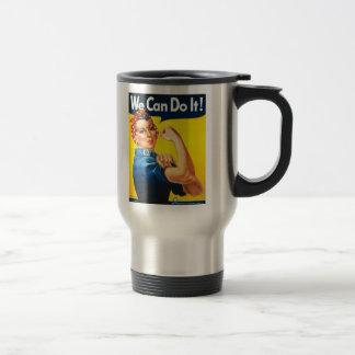 Mug De Voyage Rosie le rivoir nous pouvons le faire la deuxième