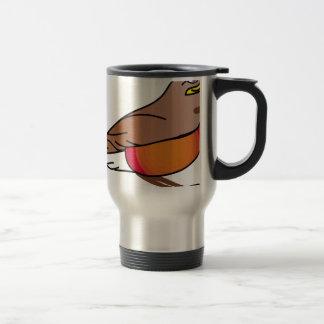 Mug De Voyage rouge-merle