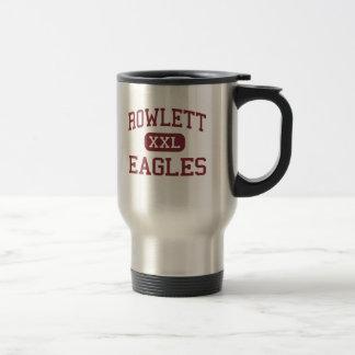 Mug De Voyage Rowlett - Eagles - lycée - Rowlett le Texas