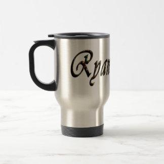 Mug De Voyage Ryan, logo, nom,