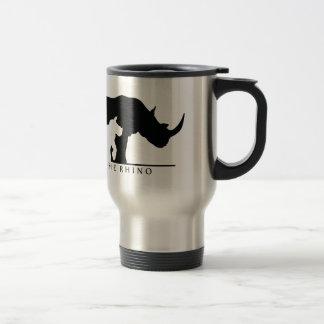 Mug De Voyage Sauvez le rhinocéros (le ver blanc.)
