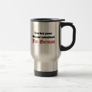 Mug De Voyage Schnitzel de saucisse allemand