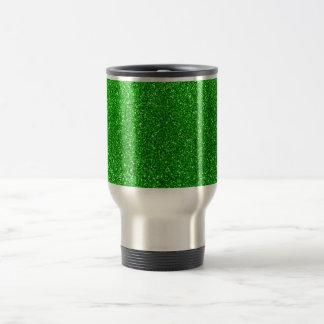 Mug De Voyage Scintillement de vert de chaux