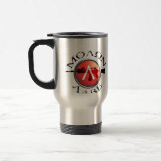Mug De Voyage Shield/AR-15 spartiate Molon Labe