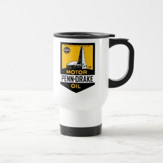Mug De Voyage Signe vintage d'huile de moteur de Penn Drake