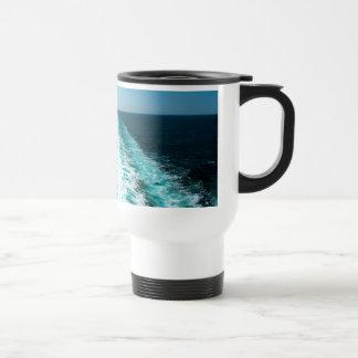 Mug De Voyage Sillage d'un bateau de croisière