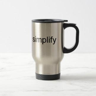 Mug De Voyage Simplifiez