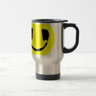 Mug De Voyage Smiley du DJ