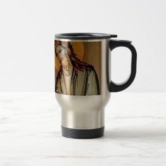 Mug De Voyage St John l'icône orthodoxe de Noël de baptiste