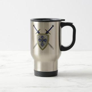 Mug De Voyage St Michael - épées et bouclier