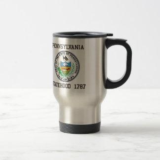 Mug De Voyage Statehood de la Pennsylvanie