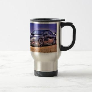 Mug De Voyage STi noir de Subaru Impreza WRX