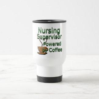 Mug De Voyage Surveillant de soins actionné par le café