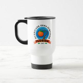 Mug De Voyage Survivante d'Irma d'ouragan de la Floride