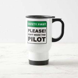 Mug De Voyage Svp, ne réveillez pas le pilote
