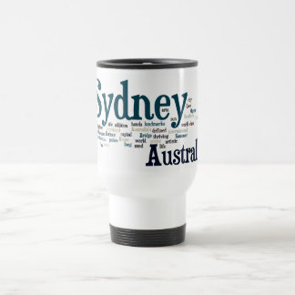 Mug De Voyage Sydney, Australie