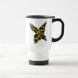 Mug De Voyage Symboles de ligue et d'équipe de justice de la