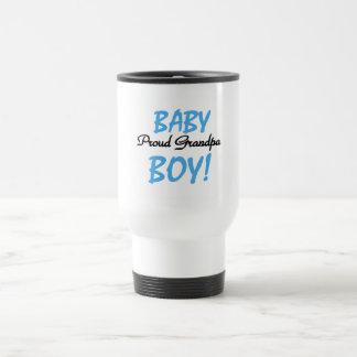Mug De Voyage T-shirts et cadeaux fiers de bébé de grand-papa