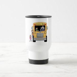Mug De Voyage T-shirts et cadeaux jaunes d'autobus scolaire
