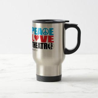 Mug De Voyage Théâtre d'amour de paix