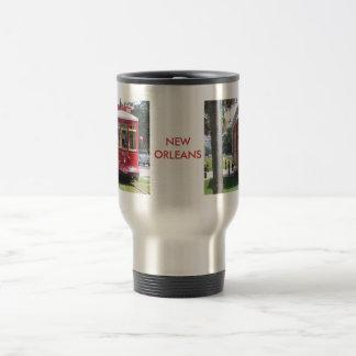 Mug De Voyage Tramway de la Nouvelle-Orléans
