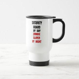 Mug De Voyage Tueur de zombi de garde de sécurité