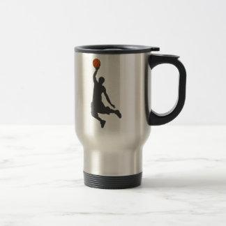 Mug De Voyage Type de mouche de basket-ball