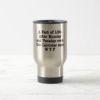 Mug De Voyage Une réalité de la vie