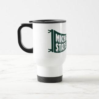 Mug De Voyage Université de l'Etat d'État du Michigan de MSU