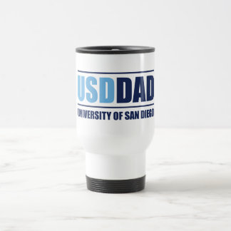 Mug De Voyage Université de papa de San Diego | USD