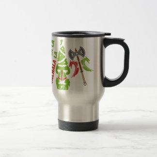 Mug De Voyage Vacances de Noël de Viking le Valhöll