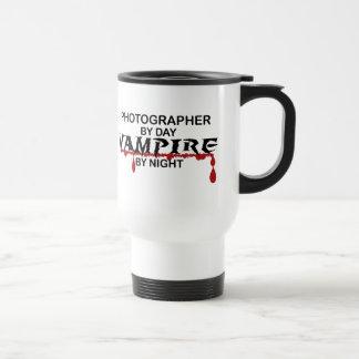 Mug De Voyage Vampire de photographe par nuit