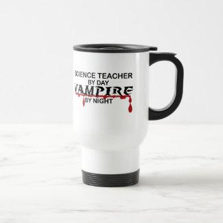 Mug De Voyage Vampire de professeur de Sciences par nuit