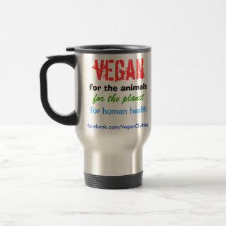 Mug De Voyage Végétalien pour les animaux