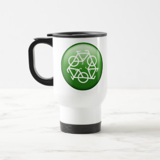 Mug De Voyage Vert de ReBicycle