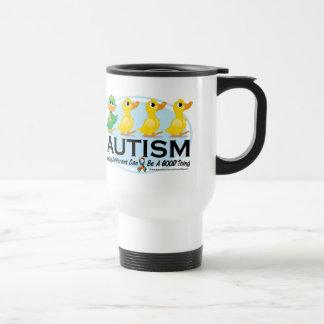 Mug De Voyage Vilain petit canard d'autisme