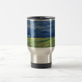 Mug De Voyage Vincent van Gogh - Wheatfield sous des nuages