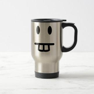 Mug De Voyage Visage de Bucktooth