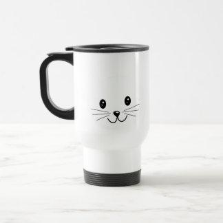 Mug De Voyage Visage mignon de chat
